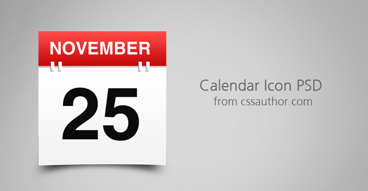 Awesome free download calendar icon psd prasad's blog.