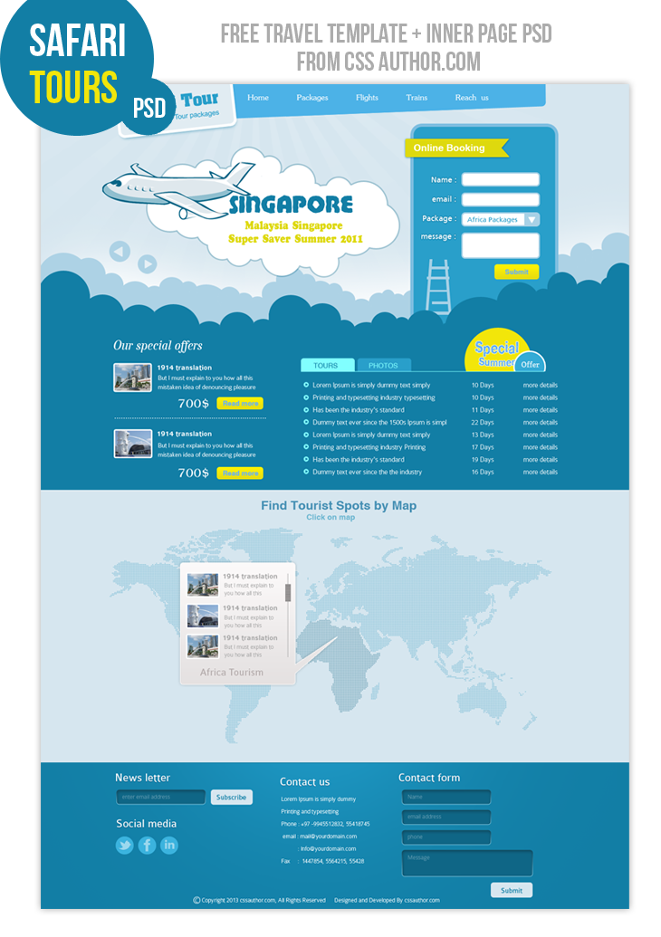 Website design layout template 50 free web design photoshop psd.